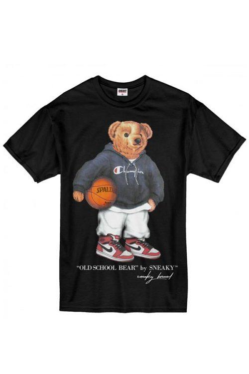 Sneaky EXCLUSIVE Old School Bear Tričko